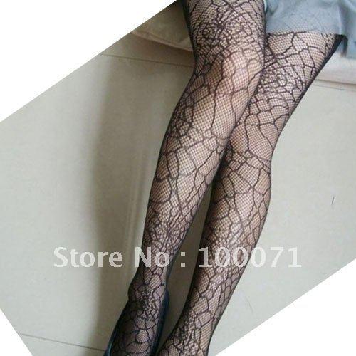 Sexy Fishnet Spiderweb Print Pattern Jacquard Stocking Pantyhose Tights  [20794|01|01]