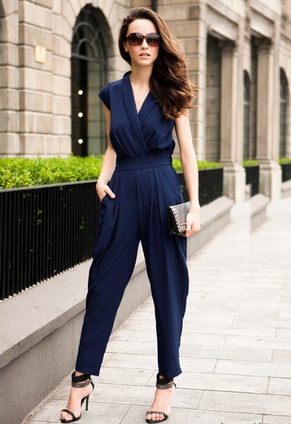 (Shipping Free!!) Fashion Loose Jump Suit/ Casual Pants 8177