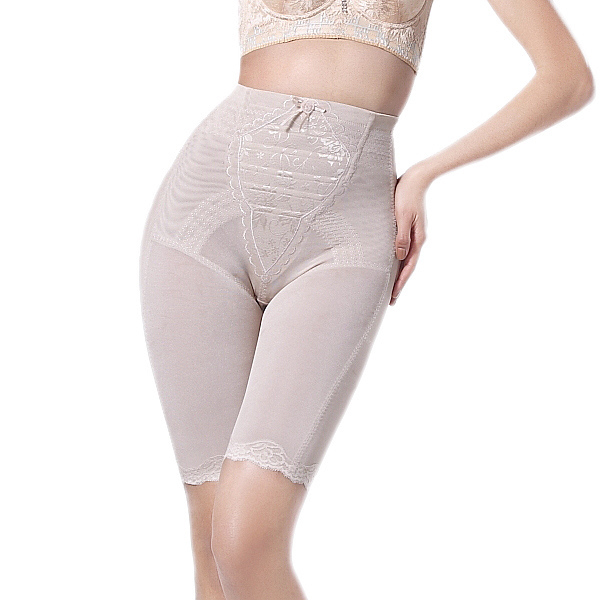 Slim waist abdomen drawing butt-lifting stovepipe corselets slimming pants body shaping pants beauty care pants plastic pants