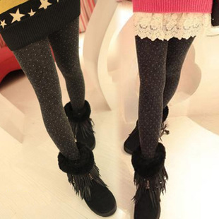 Socks female thickening stockings rompers thickening pantyhose autumn and winter step foot socks thermal socks Free Shipping