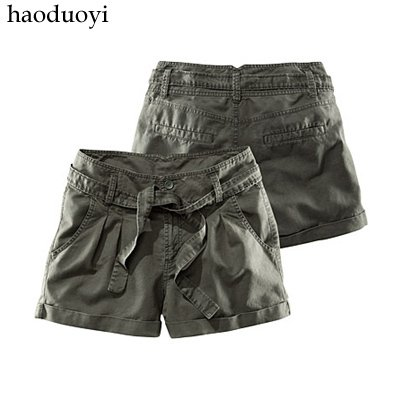 solid cotton short for uniform style free shipping for epacket and china post air mail