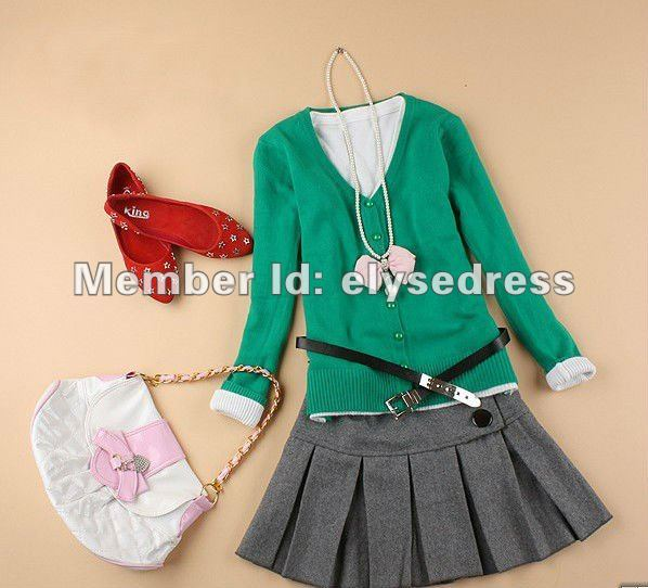 Special offer 2012 NEW, elegant fashion design fresh color, sweet gentle women ladies sweater /sweater cardigan