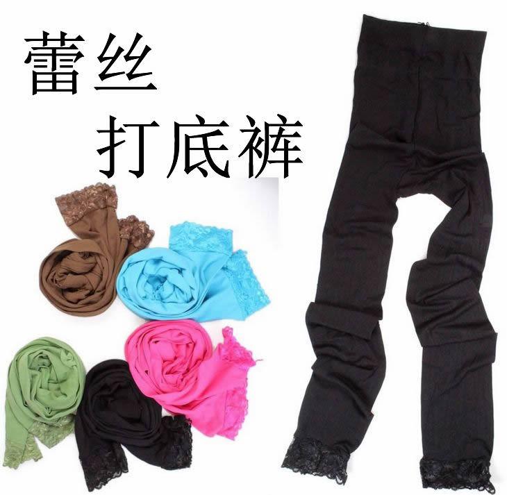 Specials velvet lace leggings impervious flesh stockings princess temperament pantyhose