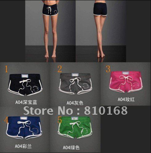 sport shorts 2012 free shipping hot sale women's brand cotton shorts
