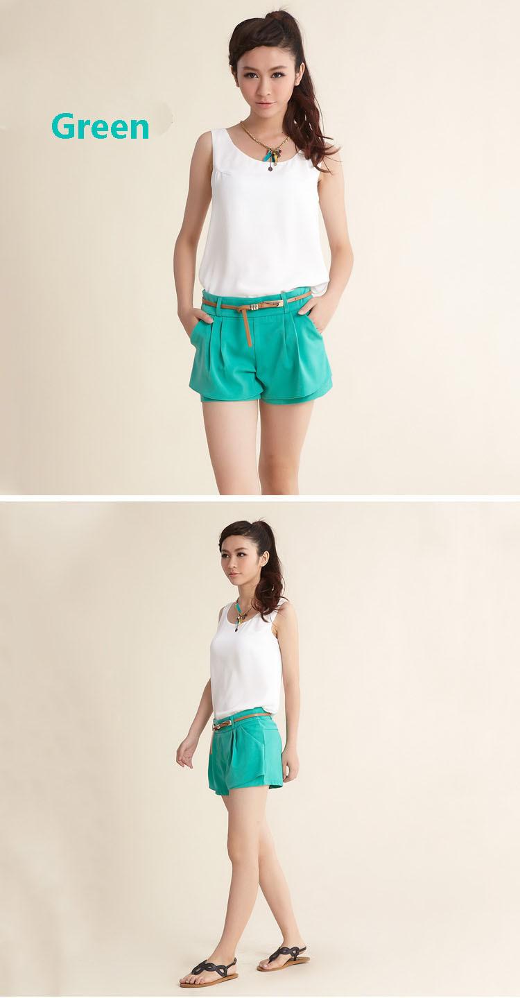 Spring 2013 new product new qiu dong han edition casual chiffon shorts big yards joker hot pants