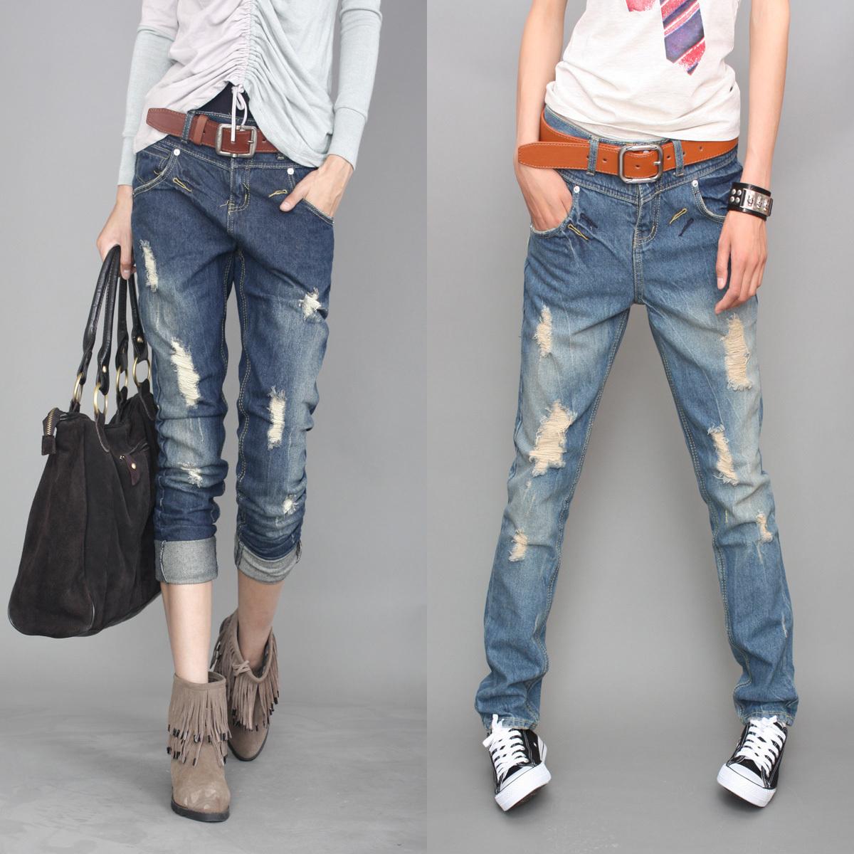 Самое модное джинсы своими руками
