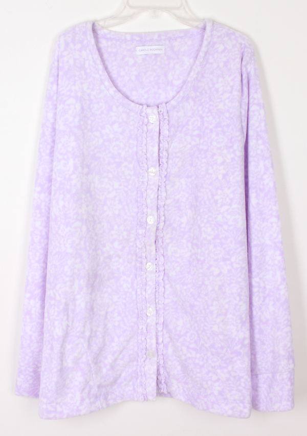Spring women's fleece sleepwear lounge e20-y305 215g