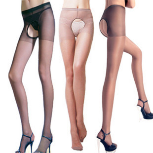 stockings women's sexy open file ultra-thin Core-spun Yarn pantyhose female 5pcs/lot,free shipping