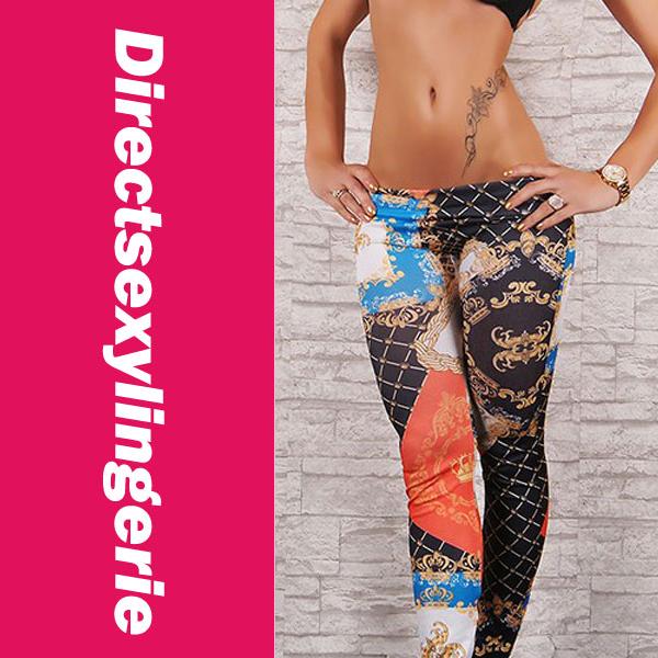Stylish Comic Print Sexy Leggings LC79054 Cheap Price Drop Shipping