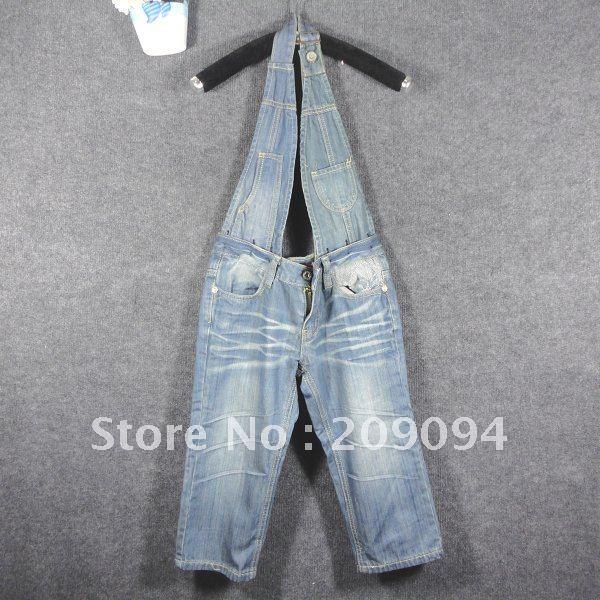 Summer Bib ,Removable Bib ,Long jeans ,2012 new style ,Denim overalls ,free shipping