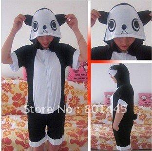 Summer Cartoon design panda Adult romper nonopnd ckeeociar cotton + Lycra for 145cm~168cm free shipping wholesale
