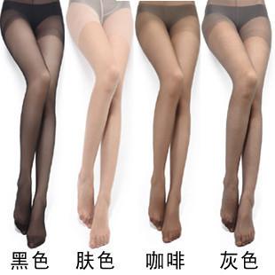 Summer Core-spun Yarn pantyhose plus file LANGSHA stockings ultra-thin incarcerators female wire socks black stockings