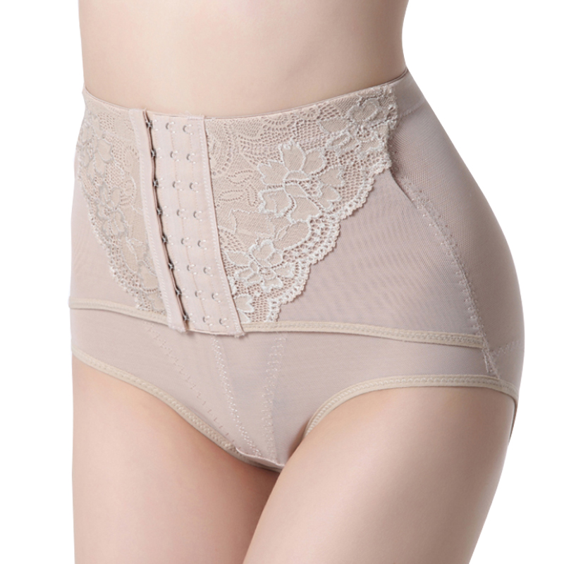Summer corset pants ultra-thin breathable seamless beauty care body shaping pants comfort postpartum body shaping panties