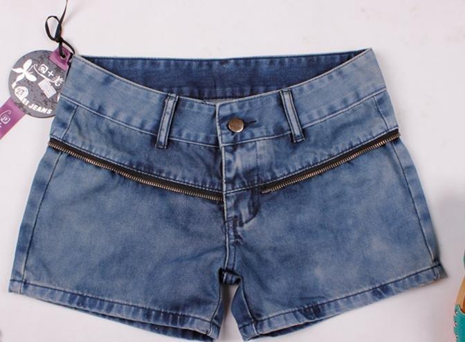 Summer jeans shorts KuQun han edition bud silk character tide pants short skirt joining together hot pants