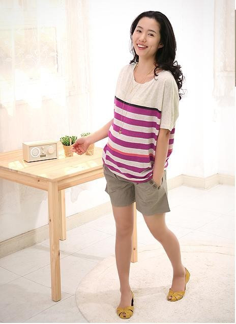 Summer maternity clothing comfortable casual maternity shorts