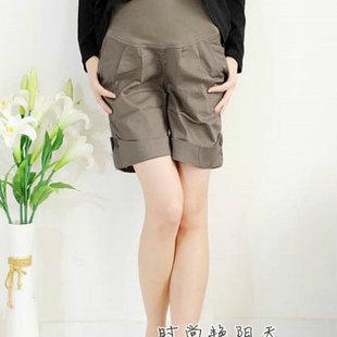 Summer maternity pants 8168 maternity casual pants maternity shorts maternity belly pants