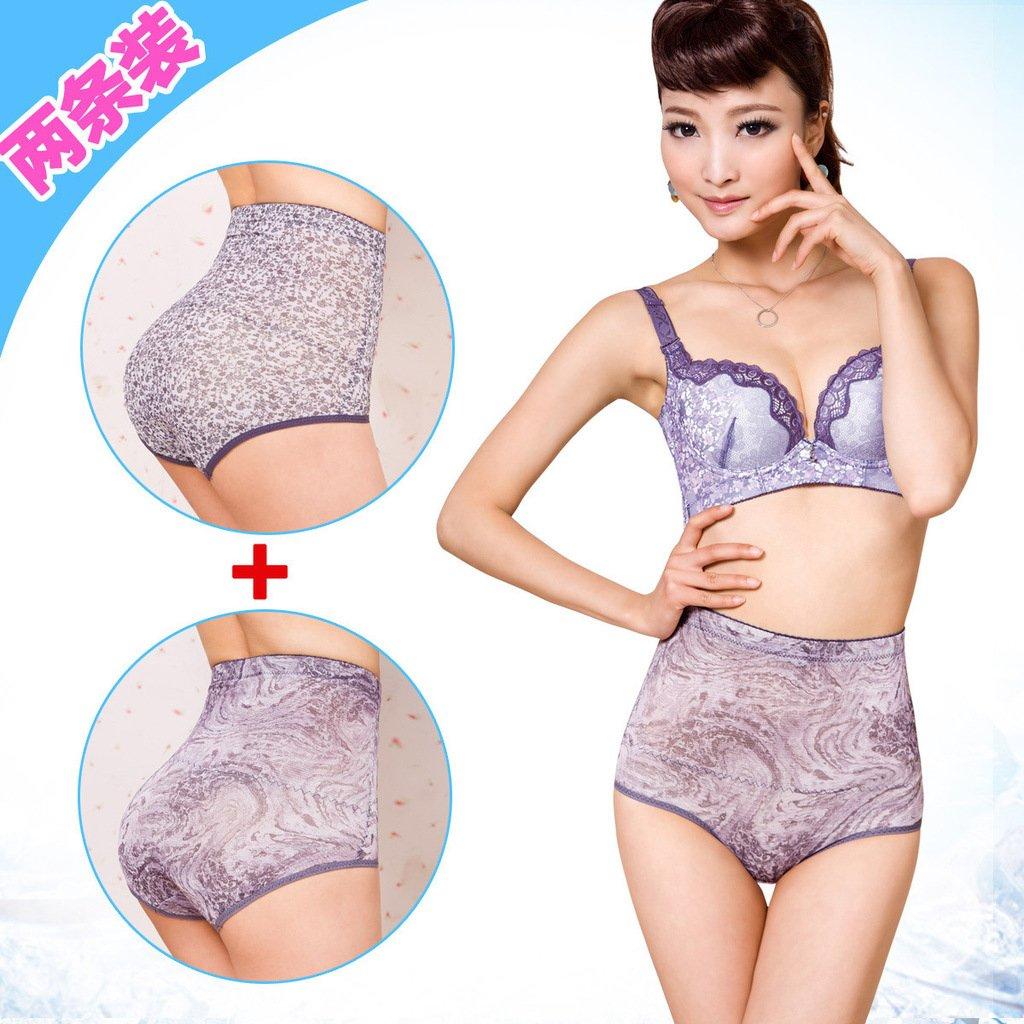 Summer ultra-thin abdomen drawing panties butt-lifting body shaping pants abdomen drawing pants underwear female 2 sk82