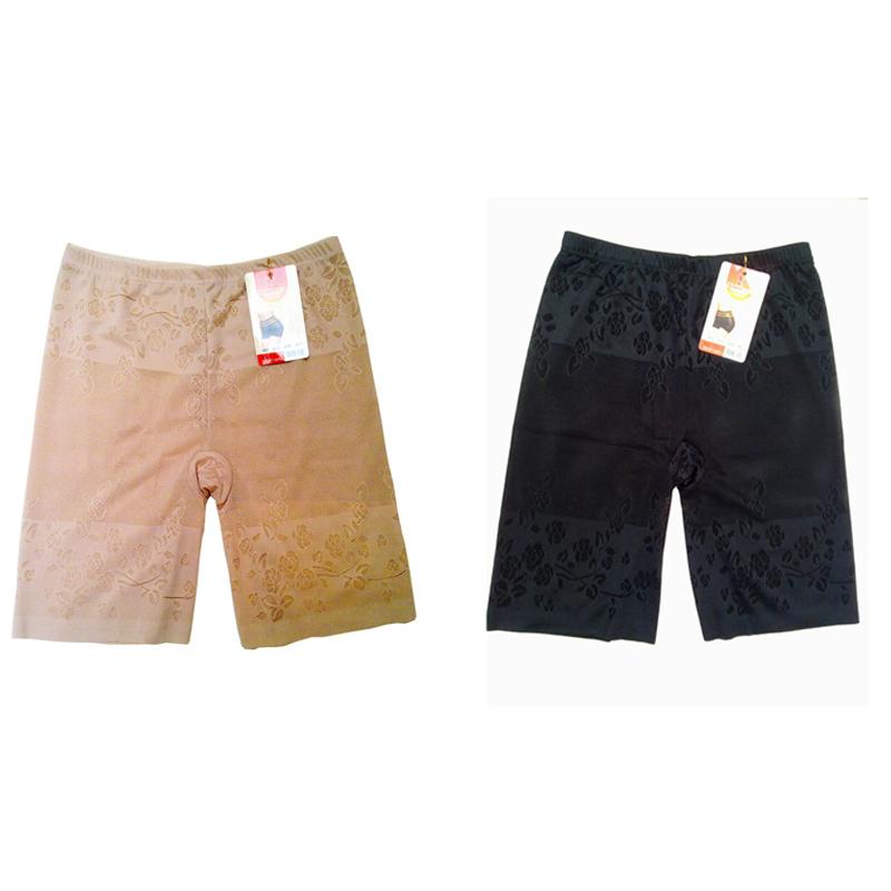 Summer viscose breathable thin butt-lifting abdomen drawing short design breathable bondage panties