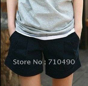 Summer wear new female trousers new show han edition thin cotton fashion leisure commuter shorts