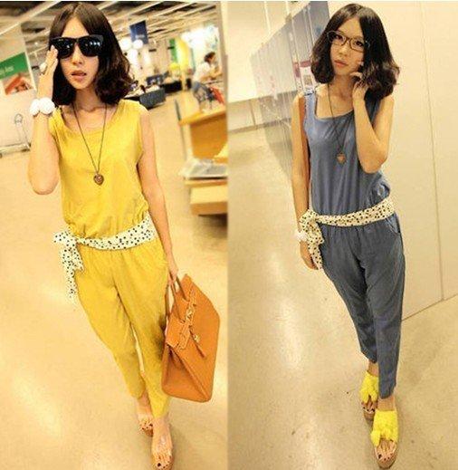 Summer Women's Jumpsuits Suit with pants Jumpsuits 2 colours