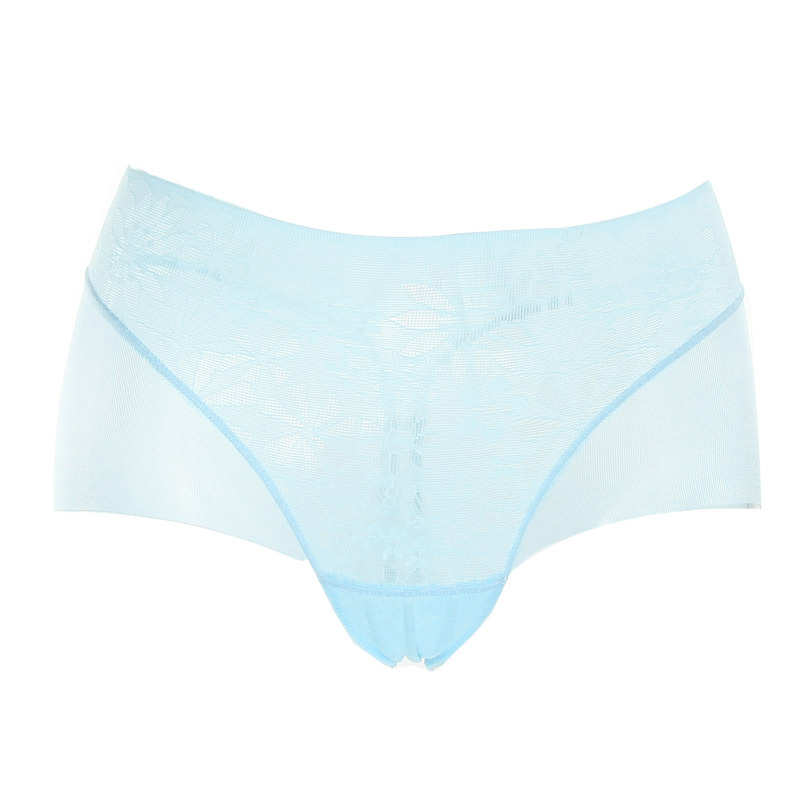 Sun flora 12 lace breathable seamless butt-lifting women's boxer panties bt802