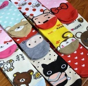 Super cute cartoon socks/ship socks/socks/stockings manufacturer direct for Japan and South Korea the single