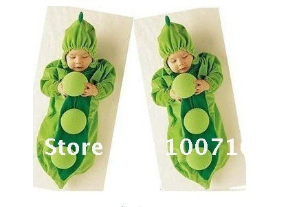 Super Cute Pea Shape Baby's Blanket Sleepers thin style