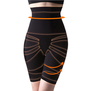 Super-elevation seamless fat burning abdomen pants waist drawing butt-lifting puerperal body shaping panties slimming corset