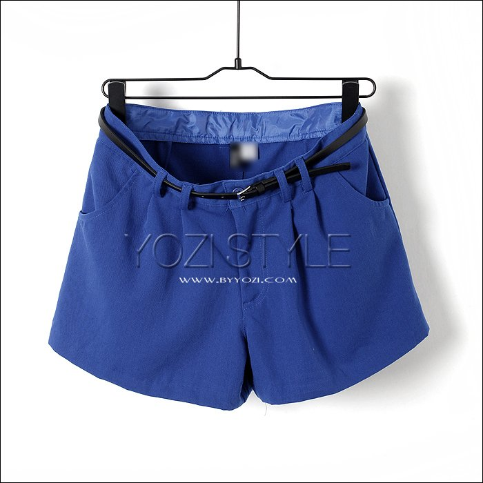 T932 pomeloes clothing AMIO 2012 fashion candy color loose shorts pants shorts trousers