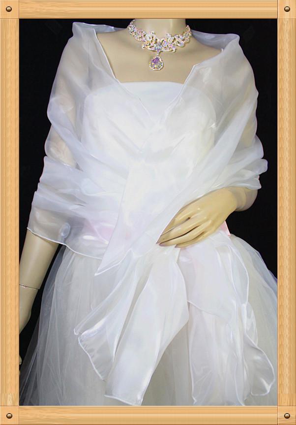 Terrific Tulle Women's Evening Shawl Wedding Shawl (More Colors) LYR-PJ007 Free Shipping