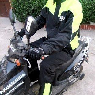 The appendtiff arai oxford fabric motorcycle ride raincoat set fashion split