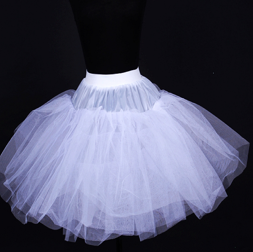 Как сделать подъюбник для пышного платья
