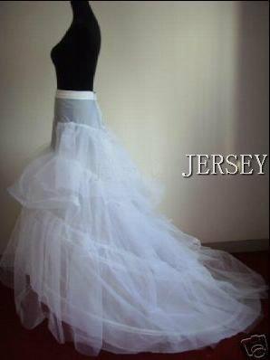 The bride wedding dress slip wedding dress pannier long trailing pannier b002