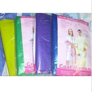 thicken disposable raincoat mix color