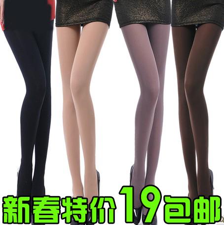 Thickening socks LANGSHA legging autumn and winter stockings female plus velvet pantyhose thick