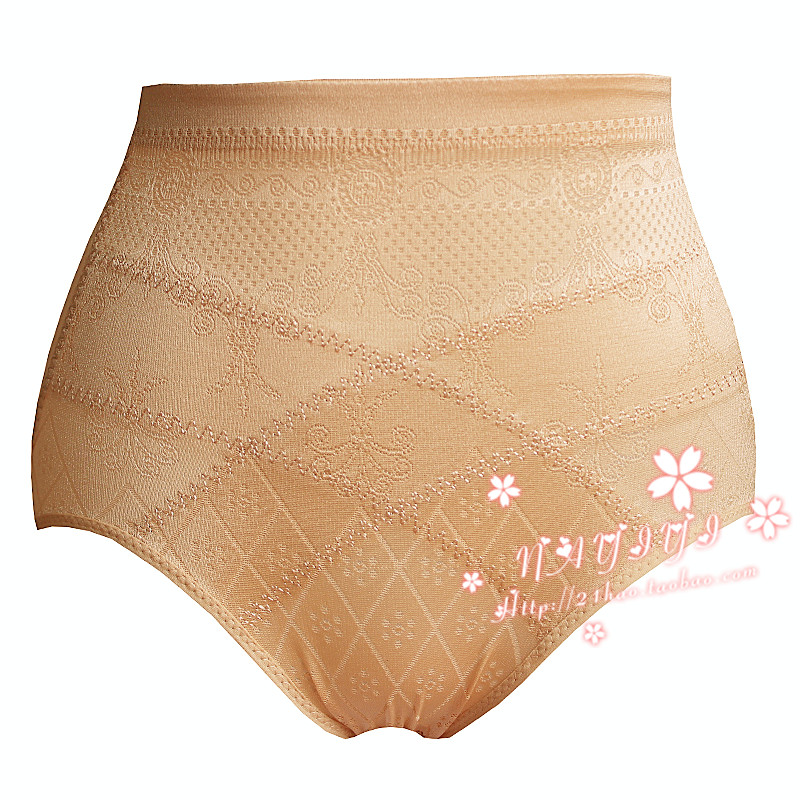 Thin breathable high waist abdomen drawing pants abdomen drawing butt-lifting body shaping panties summer body shaping pants