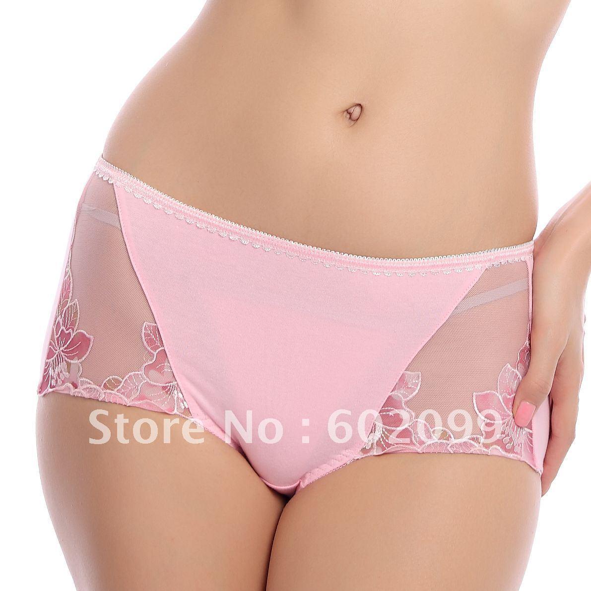 Titine high waist peony panty abdomen drawing butt-lifting 6019