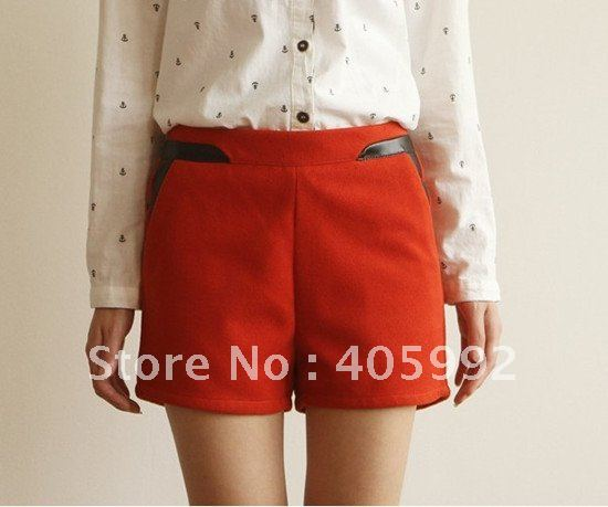 Top grade new arrival candy suits in 4 sizes, Plus size, high quality of wool&polyester lining, zipper up shorts,bright color