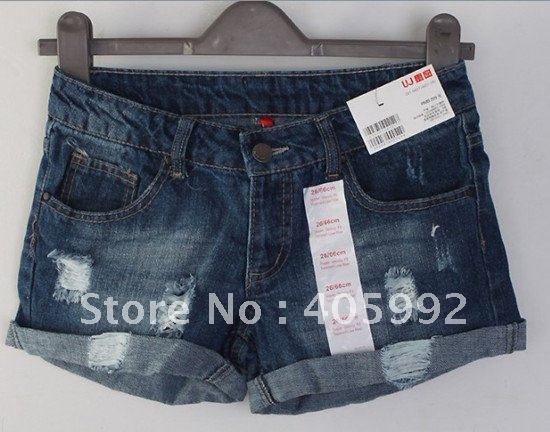 Top grade UJ brand shorts in 5 sizes, high quality of denim&polyester,Fashion, casual,comfortable, wholesale(offer drop ship)
