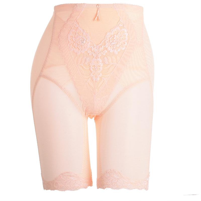 Triangle mesh plastic body shaping leg pants curve slim waist butt-lifting tc1018