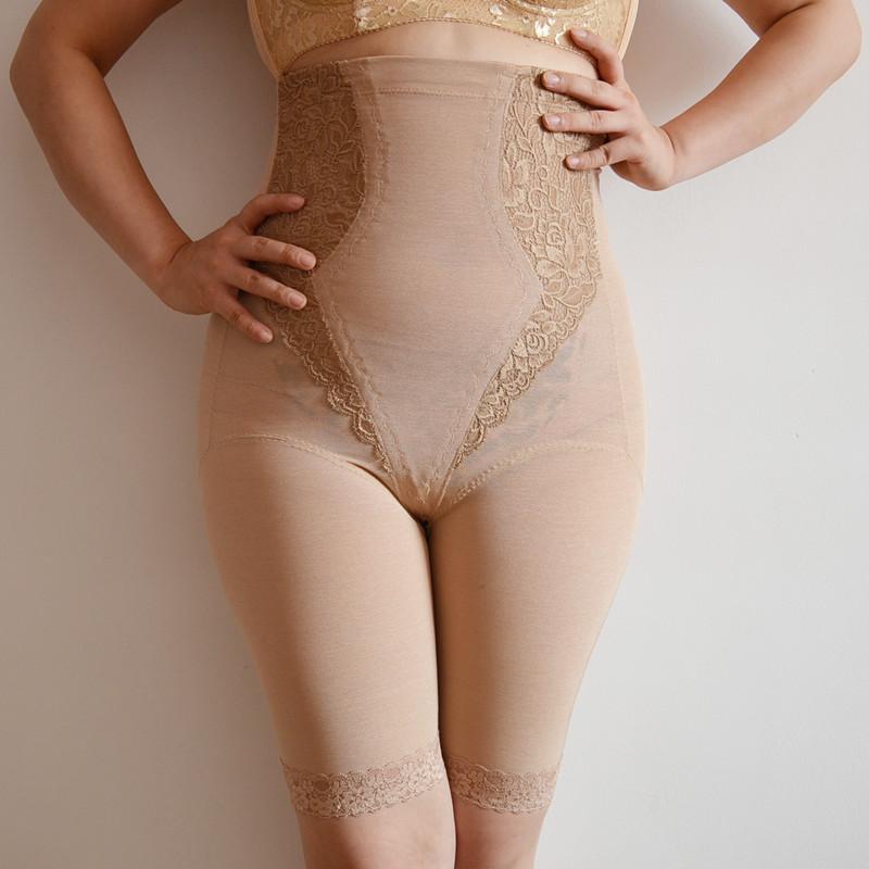 Ultra high waist abdomen drawing butt-lifting female panties body shaping pants corset pants slimming pants beauty care pants