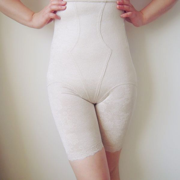 Ultra high waist abdomen print drawing butt-lifting basic plus size body shaping pants slimming corset beauty care female