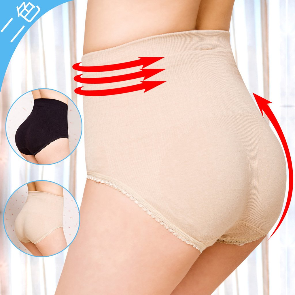 Ultra-thin abdomen drawing butt-lifting body shaping beauty care pants corset pants panties abdomen drawing pants sk83
