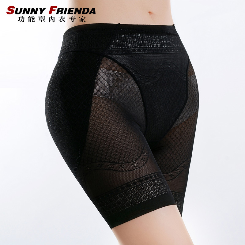 Ultra-thin seamless basic female abdomen drawing butt-lifting panties beauty care slimming body shaping pants corset pants 2678