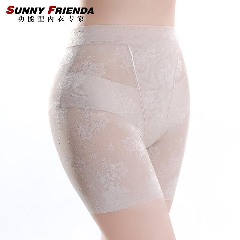 Ultra-thin slimming women's seamless basic abdomen drawing butt-lifting panties body shaping pants corset pants 2612