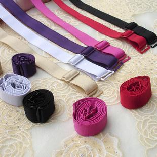 Underwear accessories bra chromophous replace the shoulder strap cloth shoulder strap bra shoulder strap 1cm