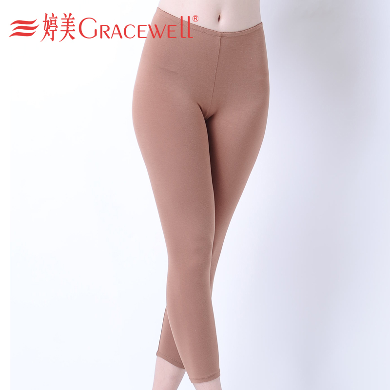 Underwear body shaping legging abdomen drawing butt-lifting body shaping pants