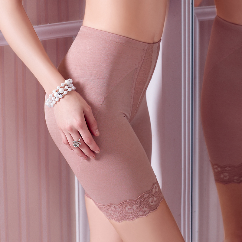 Underwear thin tricot to strengthen body shaping pants safety pants body shaping abdomen panties butt-lifting drawing