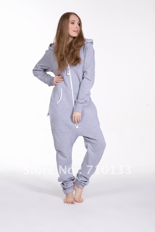 Unisex fleece one piece jumpsuit,elegant jumpsuits
