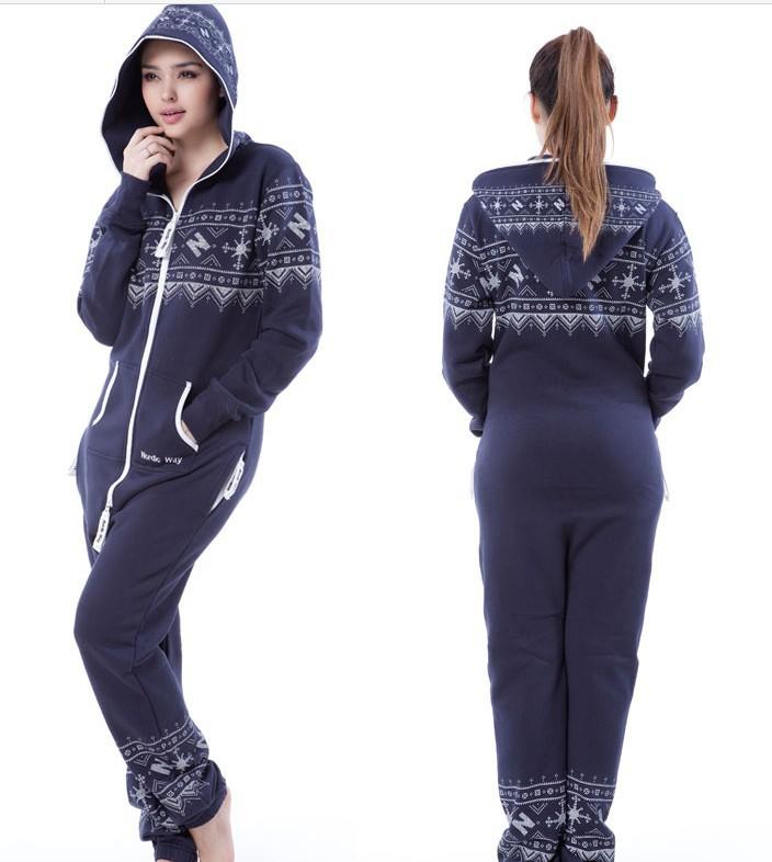 Vintage! Dark Blue Jumpsuit  /British Print / Adult Fleece Hoodies /  Oversize /Unisex Style + Fedex Free Shipping  E300-64